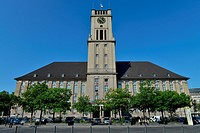City hall Schoneberg, John_F._Kennedy_Platz, Schoneberg, Berlin, Germany / Schöneberg