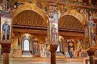 INSIDE THE PALATINE CHAPEL, PALERMO, SICILY, ITALY