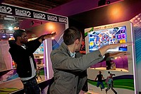 INTERACTIVE DANCE VIDEO GAME, DANCE CENTRAL 2 FOR KINECT, XBOX 360, PARIS GAMES WEEK 2011