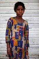 Indian girl, India.