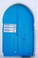 Mosque door, Tunisia.