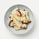 Steamed Bamboo Shoot and Shiitake