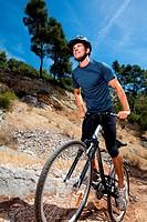 Man nature bike