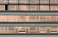 high rise office building windows
