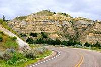 Theodore Roosevelt National Park, North Unit, North Dakota, USA.