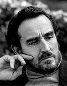 Portrait of Italian actor Vittorio Gassman. Milan, 1972
