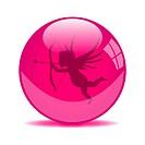 Cupid Valentine Globe
