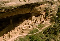 cliff dwelling, Mesa Verde National Park, Colorado Built by Anasazi, ca
