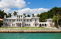 The ' Scarface Mansion', Star Island, Miami Beach, USA