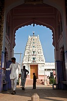 Hindu Temple, Pushkar, Rajasthan, India