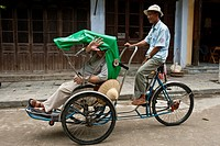 Bicycle Taxi, Hoi An, Vietnam