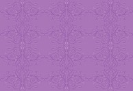 Purple decorative swirly pattern
