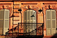 Art_Nouveau old door in Tbilisi Old town, Republic of Georgia