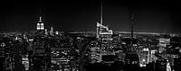 Blick über die Dächer von Manhattan, New York City/USA.