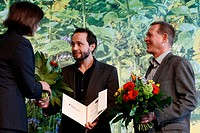 First Price _ Organic Farming Award 2013 _ for winery Zähringer. Photo: Wolfgang Fabian Zähringer and Zähringer