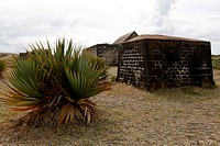 Mauritius island, fortress protecting grand port entry