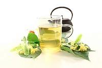 hot lime blossom tea