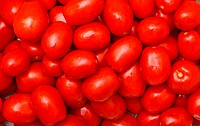 Lot of Red Tomatoes background