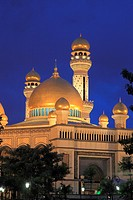 Brunei, Gadong, Jame´Asr Hassanil Bolkiah, Mosque,