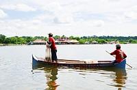Fishermen in the Cispata Bay, San Antero, Cordoba, Colombia
