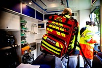 Reportage on Robert Ballanger Hospital's emergency medical team in Aulnay-Sous-Bois, France.