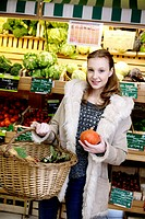 Organic supermarket.