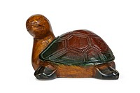 Wooden figurine of turtle