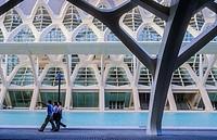 Príncipe Felipe Sciences Museum,City of Arts and Sciences, by S  Calatrava  Valencia  Spain