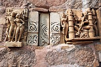 The erotic temples of Khajuraho  madhya Pradesh, India.