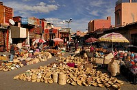 Marrakech/Marrakesh; Rahba Lakdima Square; Medina; Souks; Morocco