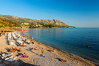 Main Beach, Budva, Montenegro, Europe