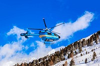Helicopter in mountains - Obergurgl Austria