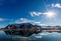 Gashamna (Goose Bay), Hornsund, Spitsbergen Island, Svalbard Archipelago, Norway, Scandinavia, Europe