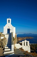 Agios Constantinos church, Hora, Serifos Island, Cyclades, Greek Islands, Greece, Europe