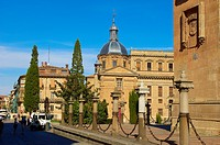Cathedral, Salamanca, New Cathedral, Via de la Plata, Silver Route, Castilla-Leon, Spain.