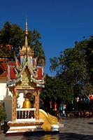 Thailand, Suthep Mount, Chiang Mai area, Doi Suthep temple, The original founding of the temple remains a legend and there are a few varied versions. ...