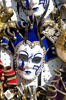 Mask of the Venice Carnival, Venice, Veneto, Italy, Western Europe