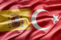 Spain and Turkey