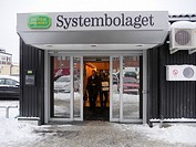 STOCKHOLM SWEDEN Systembolaget, the state controlled liquor store.