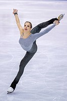 carolina kostner, gold medal at the 2012 ISU world figure skating championships, nice 2012