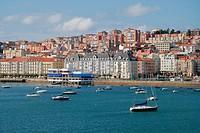 Santander cityscape, Spain