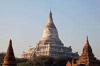 Myanmar, Bagan, Shwesandaw Pagoda