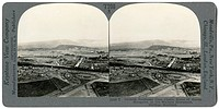 SCOTLAND: STIRLING, c1915. 'Outlook northeast from Castle, scene of heroic struggles, to the Wallace Monument, Stirling, Scotland.' Stereograph, c1915...