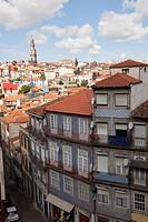 Building and cityscape, Porto, Portugal