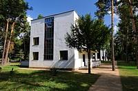 House Muche, House Schlemmer, Bauhaus, Masters Houses, Dessau, Saxony-Anhalt, Germany, Europe