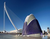 Spain , Valencia City, the city of Arts and Science built by Calatrava