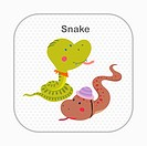 illustration image of snakes