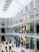 The redevelopment of the National Museum of Scotland by Gareth Hoskins Architects completed in 2011. The renovation included ref