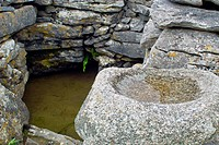 A Holy Well on Inis Oirr, Arran Islands, County Galway, Ireland