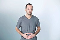 ABDOMINAL PAIN IN A MAN